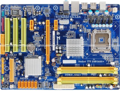 BioStar TP43D2-A7 Intel P43/ICH10 Chipset Mainboard for Intel Socket 775 Retail